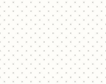 Bee Backgrounds By Lori Holt Crossstitch Gray (C6381-Gray)