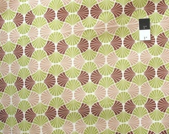 CLEARANCE SALE Joel Dewberry Home Decor Heirloom Empire Weave Sepia Fabric By The Yard