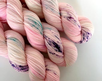PRINCESS - Hand Dyed Yarn - Signature Merino Nylon Sock Yarn Fingering - Ready to Ship - Vivid Yarn Studio