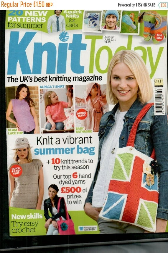 Christmas In July Knit Today Knitting Magazine Issue 60 June 2011