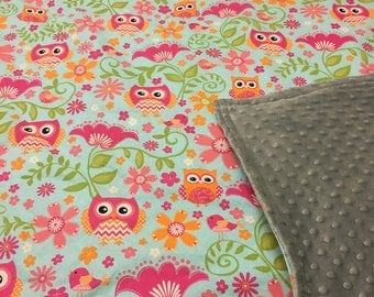"""Weighted Therapy Blanket, Cuddle or Crib Sized (36"""" x 52""""), custom and handmade by Anja's Creations"""