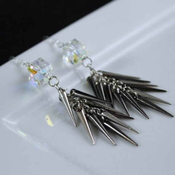 Spike the Cube Earrings