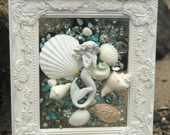 Shabby Chic Mermaid with Shells