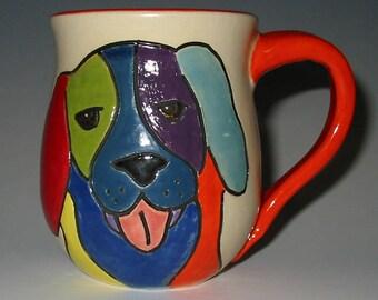 Good Dog!  Stoneware Coffee Mug