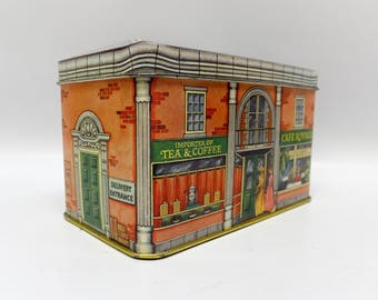 Vintage storefront tin by Daher