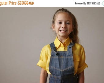 ON SALE NOS, 1970s Country Denim Overalls >>> Size 3t, 4t, 5t or 6