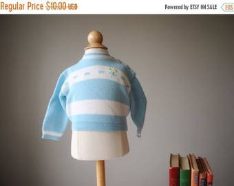 ANNIVERSARY SALE 1960s Soft Spring Sweater, size 6 months