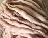 Pink - A Touch Of   Hand spun and Hand dyed Merino handspun chunky 50 metres