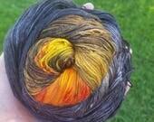 Sun, Interrupted - Eclipse Yarn - 450 yards 80/10/10 Merino/cashmere/nylon MCN