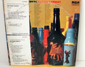 Centipede Septober Energy Dbl LP Record, DJ Promo, Prog Rock, Jazz