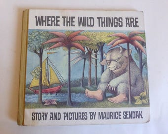 Where The Wild Things Are 25th Anniversary Edition Maurice Sendak Caldecott Winner Children's Picture Book Summer Reading Max Wolf Suit