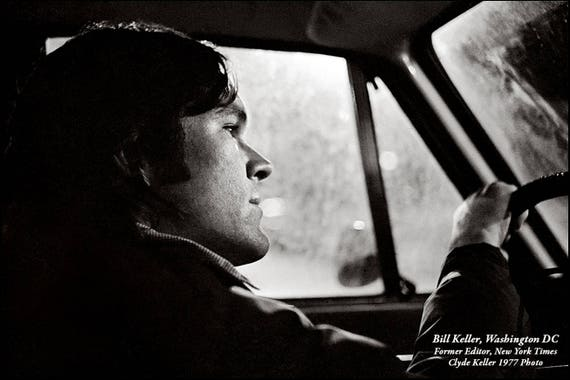BILL KELLER 1977, former New York Times Editor, Clyde Keller 1976 Photo