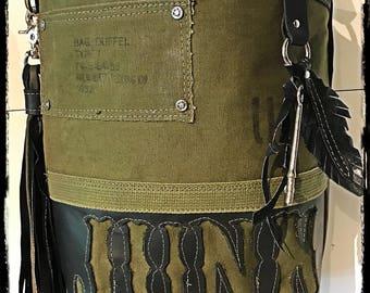 Crowned Crow 'Junk' purse