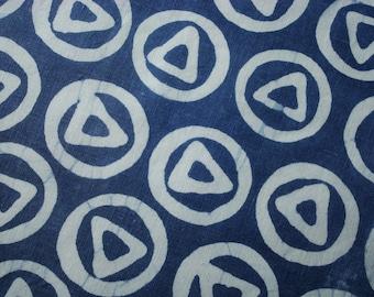 Indigo Fabric, Indigo Batik Fabric, Indigo Hemp Fabric, Indigo Linen Fabric, Organic Hemp Fabric, Indigo Cushion Fabric, Runes