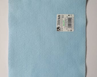 Sky blue ecofriendly felt sheet