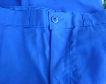 Vtg work trousers - bleu de travail from France  - Reduced for summer hols