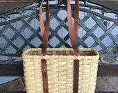 Laptop Tote Basket - RESERVED for AimeeKay