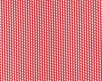 SALE Red White Clam Shell Fabric - Moda - Bonnie and Camille - Miss Kate - 55092 11