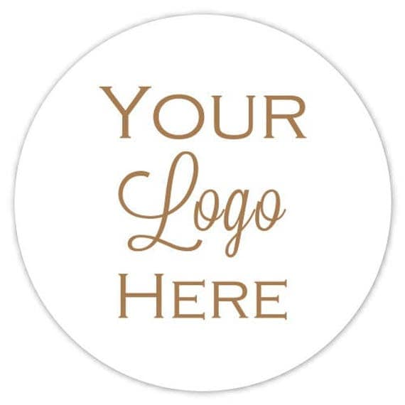 Custom Logo Stickers Etsy