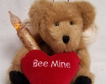 Boyds Bear with Timer Candle - Plush, Bee Mine