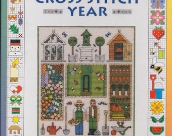 Jo Verso's Cross Stitch Year: 1001 Motifs To Celebrate The Events of the Seasons Hardcover Book 1998
