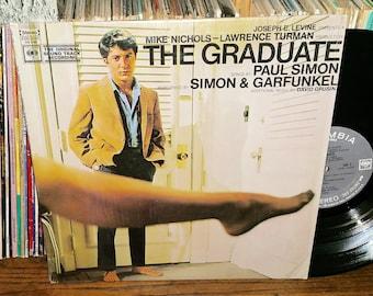 The Graduate Vintage Vinyl Soundtrack Record