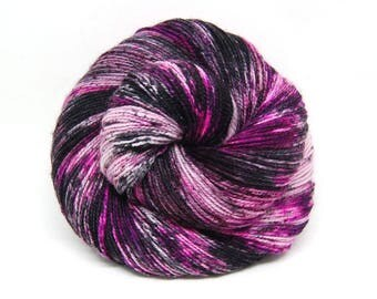 "Acoustic Sock Yarn - ""Eternally Yours"" - Handpainted Superwash Merino - 400 Yards"
