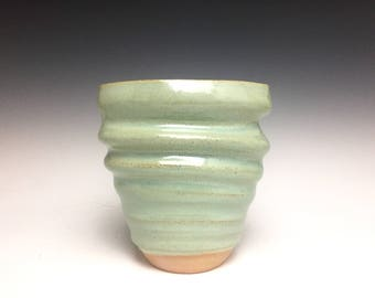 Bud Vase; Fine Art Ceramics; Florida Keys; Stoneware