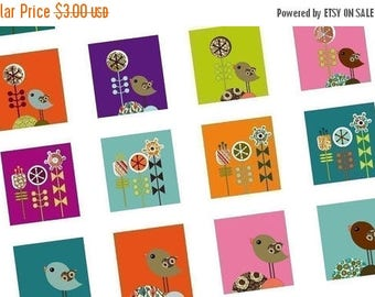 Weekly Sales Item - Retro Garden Brights - Scrabble tile images - Weekly Sale Promotion - digital sheets