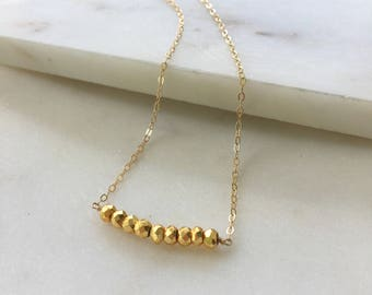 Stay Golden Necklace