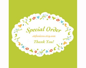 Special Order for Sue So**
