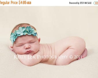 sale Teal Blue Baby Headband Baby Bow Headband Baby Girl Headband Newborn Photography Prop Girl Infant Headband Flower Headband Photo Props