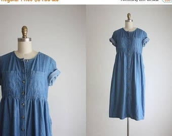25% SALE denim market dress