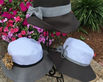 Sunhats in Grey