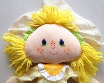 Lemon Meringue Rag Doll
