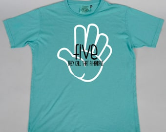 FIVE They Call That a Handful kids t-shirt/Birthday tee