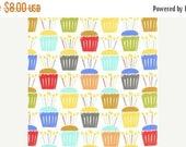 SALE Michael Miller- Cupcake Craze in Multi, 2.75 Yards