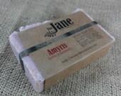 Amyris Sea Salt Soap - Love Intensely - Rustic Hot Process Soap
