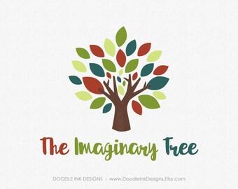 Logo Design, Tree Logo Design, Green Premade Logo and Watermark Photography, Professional Modern Logo, Business Branding