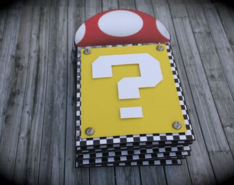 SUPER MARIO, Mario Kart Invitation