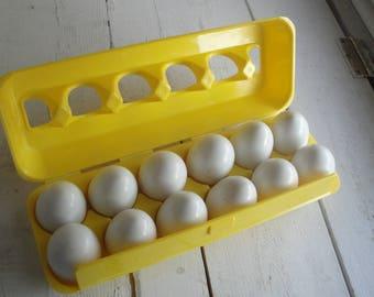 1980s Vintage Counting Eggs Playskool