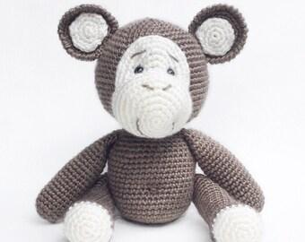 Cheeky Monkey Amigurumi Soft Toy