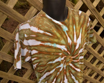 Terrestrial - Tie Dye Shirt, Tie-Dye T-Shirt, Tie Dye Clothing, Tie Dyed Clothes, Hippie Clothing, Hippy Clothes,