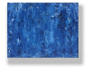 """Abstract Painting. """"Blue Yellow"""""""