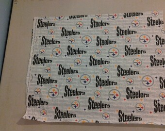 Pittsburgh Steelers fabric white 248612
