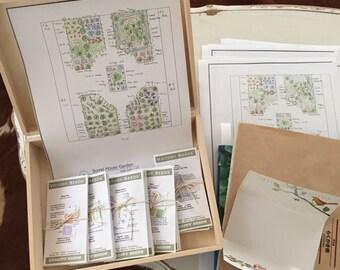 my garden design in a box. beginners box.
