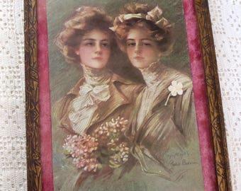 Vintage Print The Twins Philip Boileau