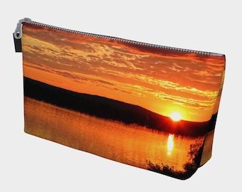 River Sunset Make Up Bag