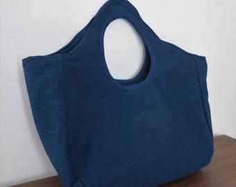 Indigo Tote Bag Kramkhem