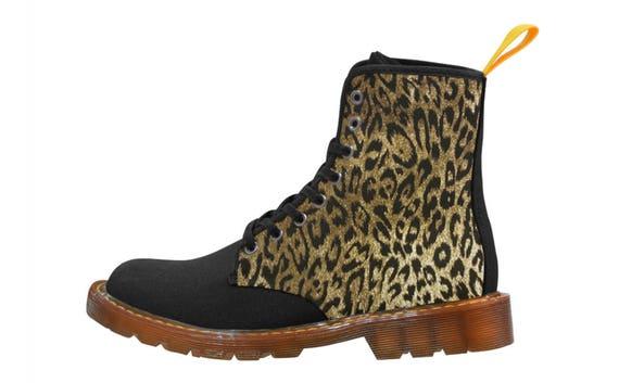 Leopard boots Gents